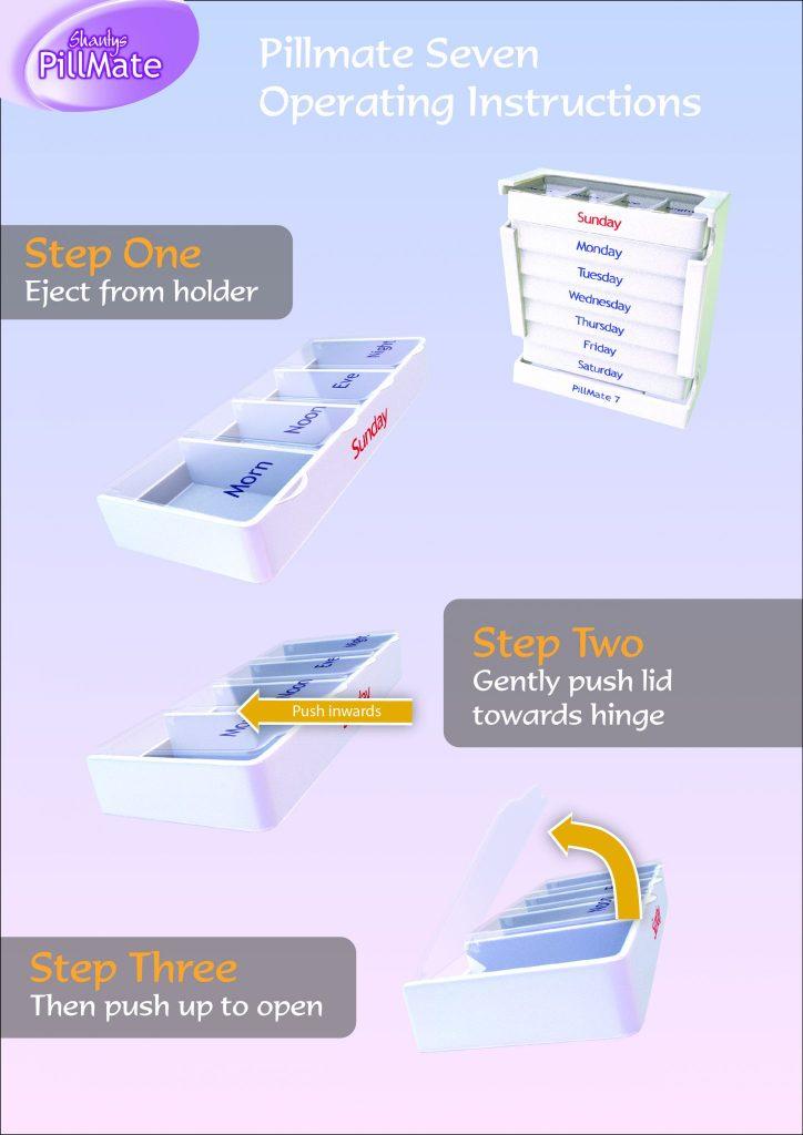 Pillmate Seven Instructions