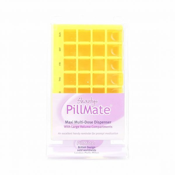 Large Maxi Multi-Dose Pill Dispenser - Shantys Pillmate-1