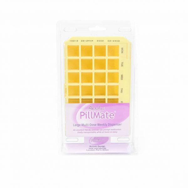 Large Multi-Dose Pill Dispenser - Shantys Pillmate-1