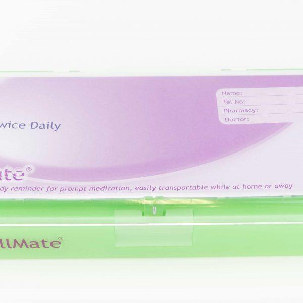 Large Twice Daily Pill Box Dispenser Weekly - Shantys Pillmate - 10