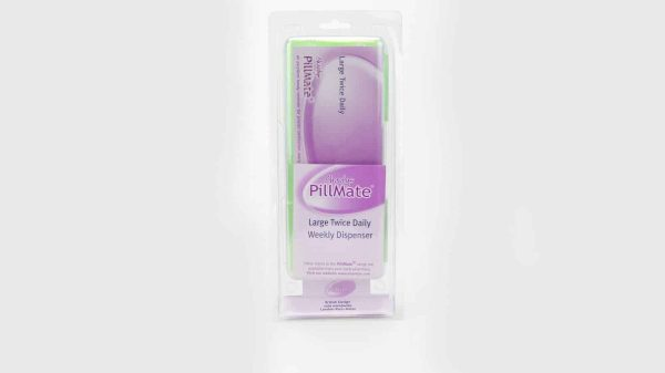Large Twice Daily Pill Box Dispenser Weekly - Shantys Pillmate - 3