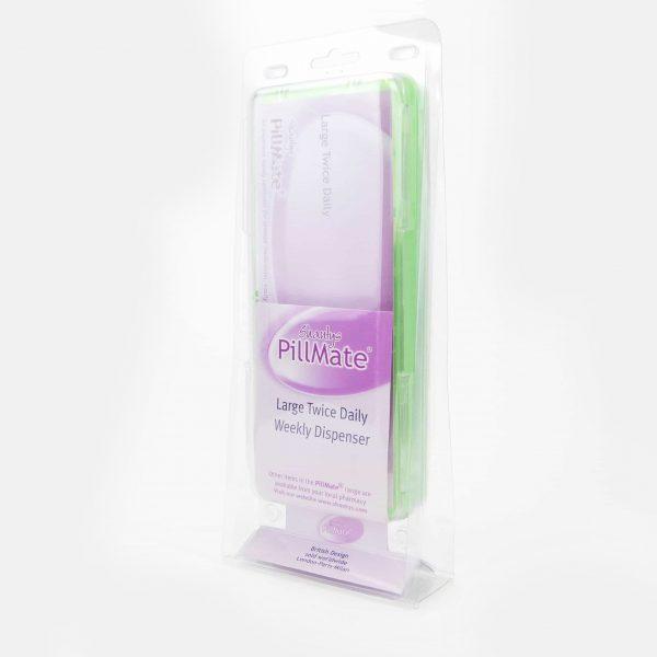 Large Twice Daily Pill Box Dispenser Weekly - Shantys Pillmate - 4