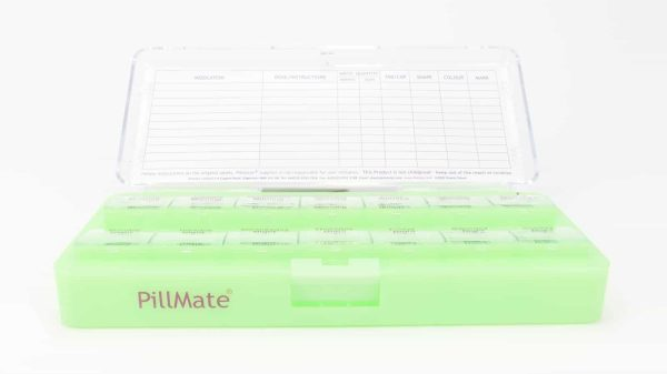 Large Twice Daily Pill Box Dispenser Weekly - Shantys Pillmate - 8