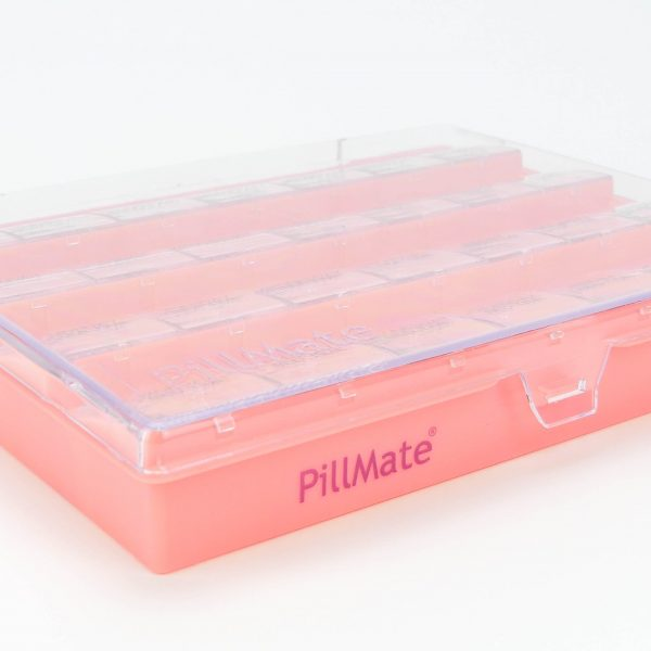 Pillmate Pill Box Extra Large Comparments Weekly - 3