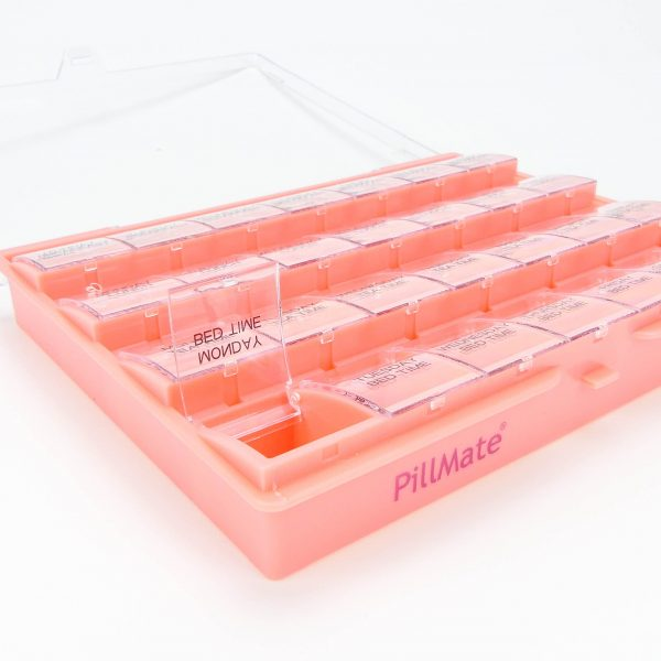 Pillmate Pill Box Extra Large Comparments Weekly - 4