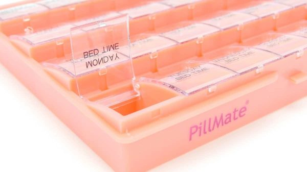 Pillmate Pill Box Extra Large Comparments Weekly - 5