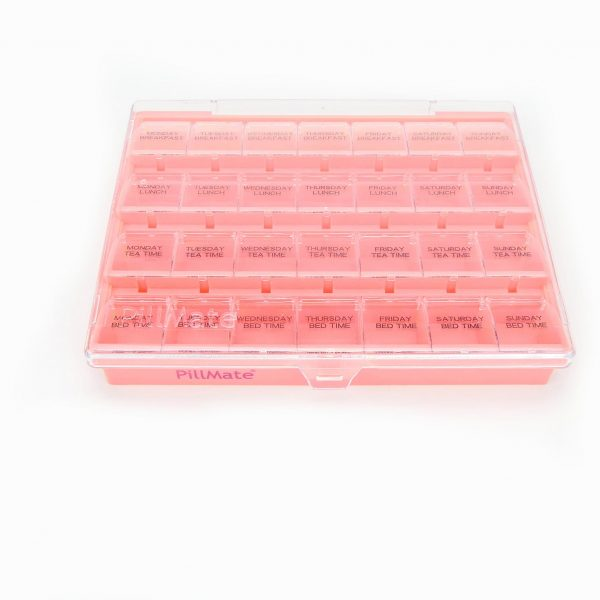Pillmate Pill Box Extra Large Comparments Weekly - 7