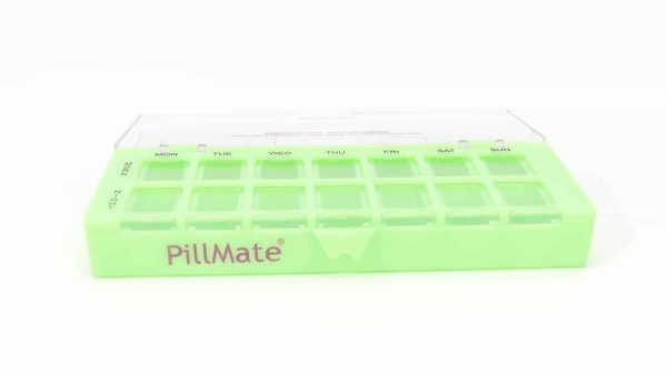 Twice Daily Dose Weekly Pill Dispenser - Shantys Pillmate-10