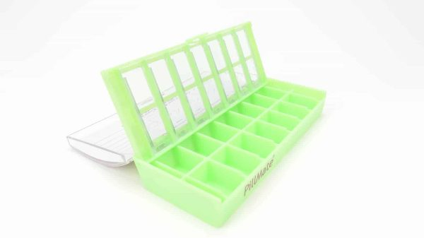 Twice Daily Dose Weekly Pill Dispenser - Shantys Pillmate-7