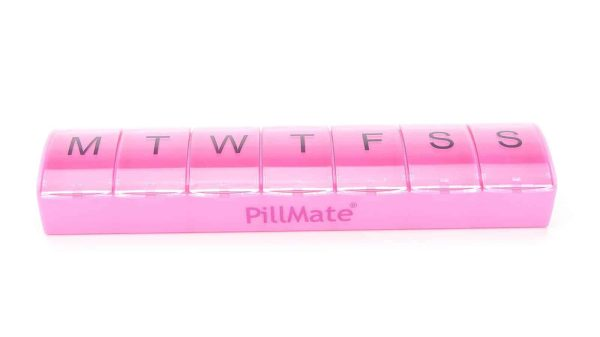 Maxi Size 7 Day Weekly Pill Box Medication Dispenser - Shantys Pillmate - 3