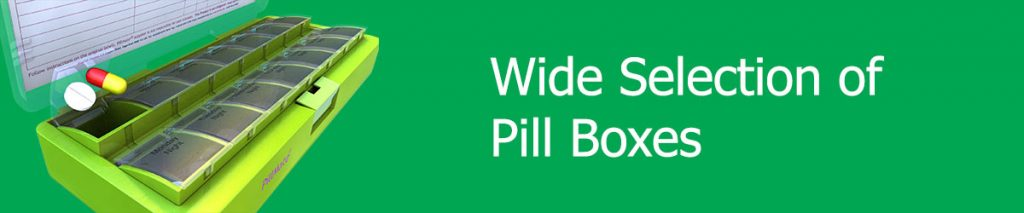 Wide Selection of Pill Boxes