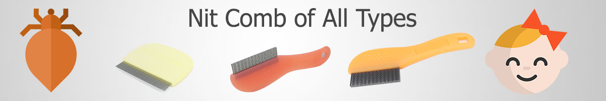 Nit Lice Comb Selection