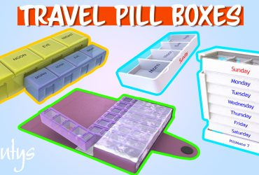 Travel Pill Box Selection Shantys