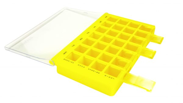 Maxi Multi Dose Weekly Pill Box Organiser Shantys Pillmate Maxi Multi Dose Medication Pillmate Tablets Weekly Organiser Daily 7 Days Pill Product Large Complex Dose Dispenser Uk 319029