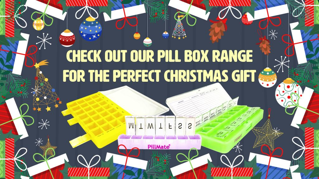 Shantys Pillmate Pillbox Medication Box Dispenser Organisor Christmas Gift Present Thoughtful