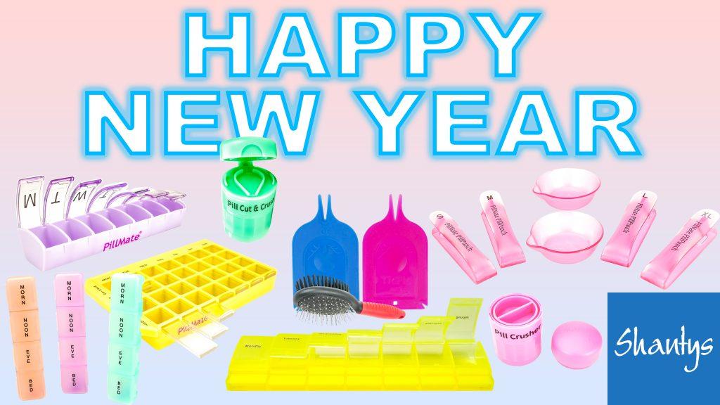 Shantys Team Happy New Year Thumbnail Pillbox Company Medication Accesories Management Pillbox Sorter Dosage Suffolk Essex Norfolk Thumb